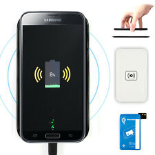 QI Standard Wireless Charger Charging Pad+Receiver For Samsung Galaxy S5 G900