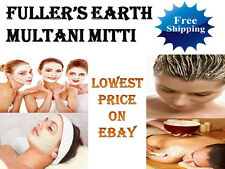 Fuller's Earth Multani Mitti Mati - Natural Facial Cleanser - Cures Acne Pimples