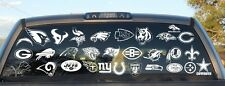 NFL All Teams Decal Sticker You Choose Team,Size & Color Buy 2 Get 1 Free