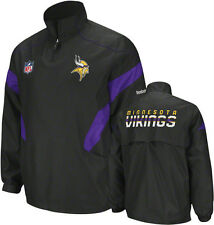 Minnesota VIKINGS Reebok Sideline NFL Officially Licensed Jacket: 2XL, 3XL, 4XL