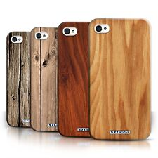 STUFF4 Back Case/Cover/Skin for Apple iPhone 4/4S/Tree Wood Pattern/Effect