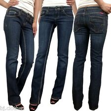 NEW Dickies Girl Junior Stretch Straight Bootcut Skinny Tight Low Rise Jean 0 XS