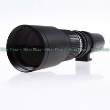 500mm F/8 Super Preset Telephoto Manual Lens T Mount for Canon Nikon&ALL Cameras
