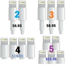 Superb Quality! iPhone 5 S/C Cable Sync Charger High Speed Data Transfer - Lot