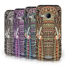 STUFF4 Back Case/Cover/Skin for HTC One/1 Mini 2/Aztec Animal Design