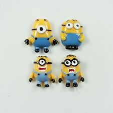 1 x Creative 3D Resin Yellow Man Despicable Me Refrigerator Magnet Sticker