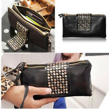 Nice Women Card Coin Purse Fit Faux Leather Wallet Holder Zip Clutch Recent Pop