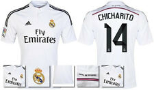 CHICHARITO 14 REAL MADRID HOME WHITE JERSEY - FREE SHIPPING WORLDWIDE!