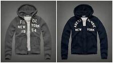 NWT Abercrombie & Fitch Mens East River Trail Hoodie S, M, L, XL, XXL