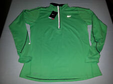 NEW Nike Womens Element 1/2 Zip Pullover Green XS, L or XL $65 MSRP 481320 370