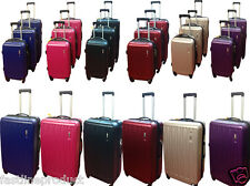 Hard Shell 4 Wheels spinner suitcase ABS Trolley Luggage 25% expandable