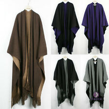 Women's Winter Wool Cashmereb Big&Gaint Shawl Scarf Wrap New Fashion