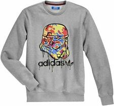 NEW STAR WARS STORMTROOPER CAMO SWEAT SHIRT TOP JUMPER M L XL