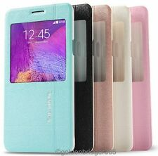 KALAIDENG Thin PU Leather Flip Wallet Cover Case for Samsung Galaxy Note 4 N9100