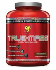 BSN True Mass 2.61KG / 2.6KG / 5.75lbs / Build Muscle Weight Gainer Recovery