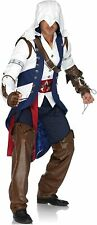Connor Assassin's Creed Video Game Fancy Dress Halloween Deluxe Adult Costume