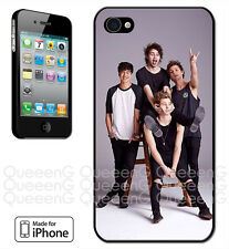 Made for iPhone 4, 5, 5C Case 5SOS 5 Seconds of Summer Ash Luke Calum Michael
