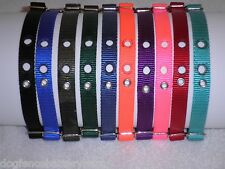 Nylon Collar fits Invisible,PetSafe,DogWatch,Perimeter,Pet Stop,Dog Guard Fences