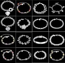 Clearance Women Lady fashion Classic 925 Sterling silver filled Bracelet Bangle