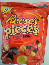 *48oz Bag Reese s Pieces Peanut Butter Crunchy Shell Candy,Sweet Taste,Hershey