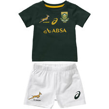 South Africa Springbok Home Fan Rugby Infant Kit 2014-2015 (BNWT)