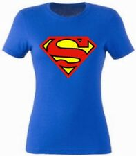 Superman Damen T-Shirt, Frauen Shirt