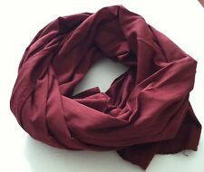 NEW 100% COTTON WOMEN LONG SCARF SOLID COLORS $ 7.99 EACH