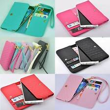 multi-function Wallet Card Holder wrist Cover Case For Allview android phone
