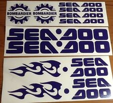 Seadoo, jetski, graphics decal sticker kit, GTX GTI Jet limited GSX SPX RX GTS