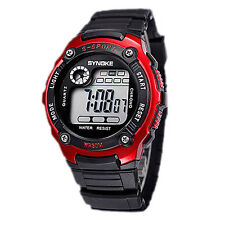 Fashion Sports Electronic Wrist Watches Waterproof Watch for Kid Girl's Boy's