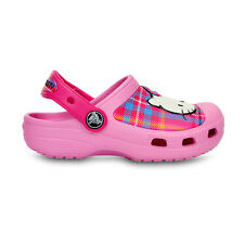 Girls Crocs Pink Hello Kitty Shoes  - On Sale Now