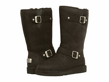 UGG Australia-WN SUTTER Water Resistant Leather1005374 100% Authentic Black-New
