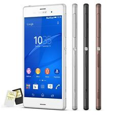 New Sony XPERIA Z3 Dual D6633 Quad 5.2' 20.7MP 4G (FACTORY UNLOCKED) 16GB Phone