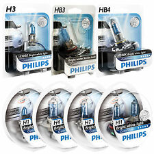 H1 H4 H7 H11 HB3 HB4 & PHILIPS Crystal Vision Upgrade Auto Lampadine