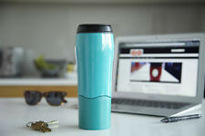 Dexam Mighty Mug Cup Travel Mug Thermos Flask Won't Spill' Teal Green 17920228