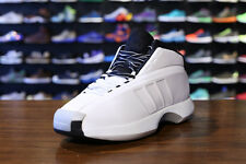 "Mens Adidas Crazy 1 Retro ""Storm Trooper"" Kobe Sneakers New, White D74179"