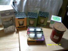 Various Essential Oils and Lead Free Candles and Home Freshners