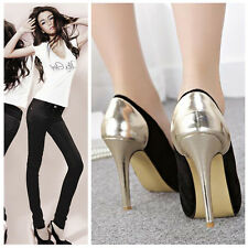 New Women's Fashion Sexy High Heel Stilettos Platform Pumps Wedding Shoes