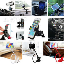 For iPhone GPS MP4 Universal Car Air Vent Windshield Phone Cradle Bicycle Mount