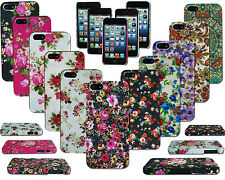 NEW FLOWER SLIM DESIGN HARD BACK CASE COVER FOR VARIOUS MOBILE PHONE MODELS MF