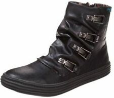 Blowfish Ohmy Black PU New Womens Winter Cheap Ankle Boots Shoes