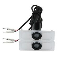2X Car door Led Welcome laser projector Logo Ghost Shadow Light Lamp For Lexus