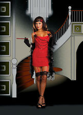 Sexy Adult Dreamgirl Ruby Red Hot Flapper Costume Dreamgirl 7474