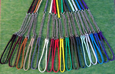Dragon Leads Collar and Lead Show Set for Dogs Range of Sizes and Colours