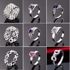 HOT!Free P&P wholesale Fashion jewelry 925 sterling silver ring party gift