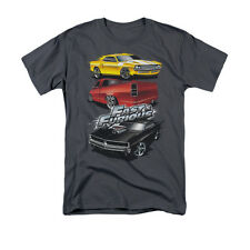 Fast And The Furious Muscle Car Splatter Men's T-Shirt