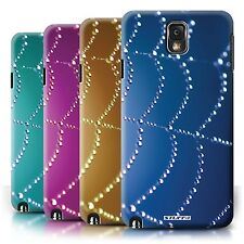 STUFF4 Back Case/Cover/Skin for Samsung Galaxy Note 3/Spider Web Pearls