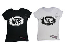 New Womens Vans 1966 Jersey Ladies Top T-shirt sizes 8 10 12