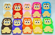 3D Monkey King Cartoon Soft Silicone Case Cover For Samsung Galaxy Series Kids
