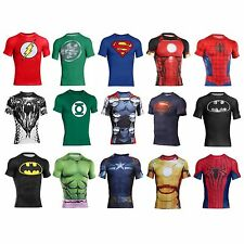 Under Armour Alter Ego Superhero Compression Shirt Marvel DC Limited Edition